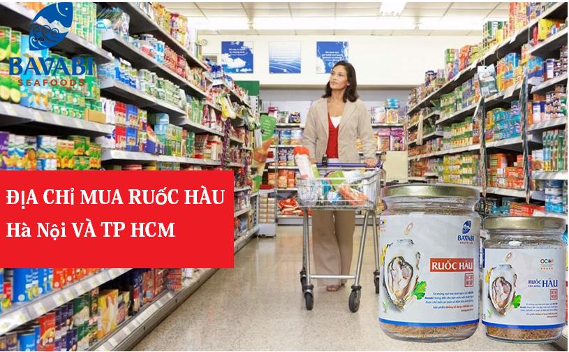 Địa chỉ bán ruốc hàu uy tín ở Hà Nội và TP HCM