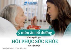 món ăn bổ dưỡng cho người già