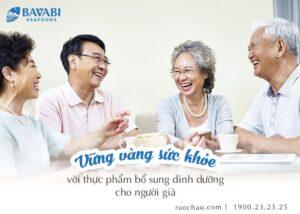 thực phẩm bổ sung dinh dưỡng cho người già